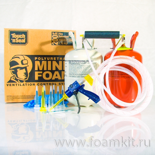 Комплект Touch'n Seal Mine Foam