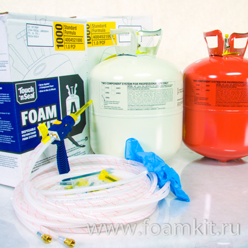 Комплект Touch'n Seal Foam Kit 1000 (20 кг/м3)