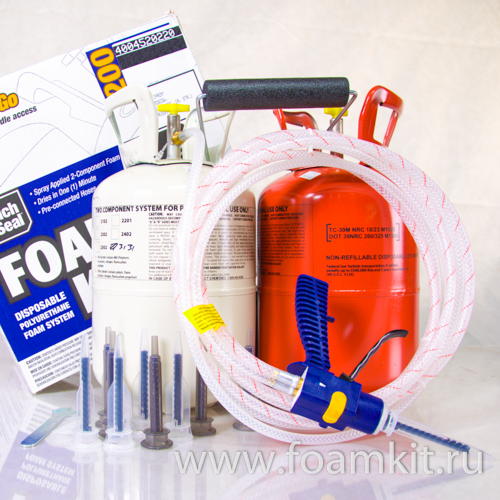 Комплект Touch'n Seal Foam Kit 200 (30 кг/м3)