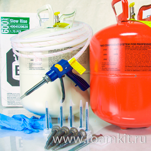 Комплект Touch'n Seal Foam Kit 600 SR (30 кг/м3)