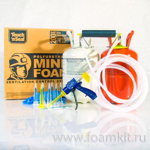 Система для вентиляционных перемычек MINE FOAM