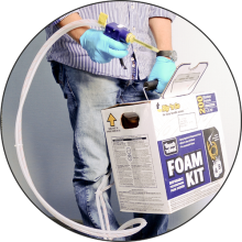 Где применять комплекты Foam Kit